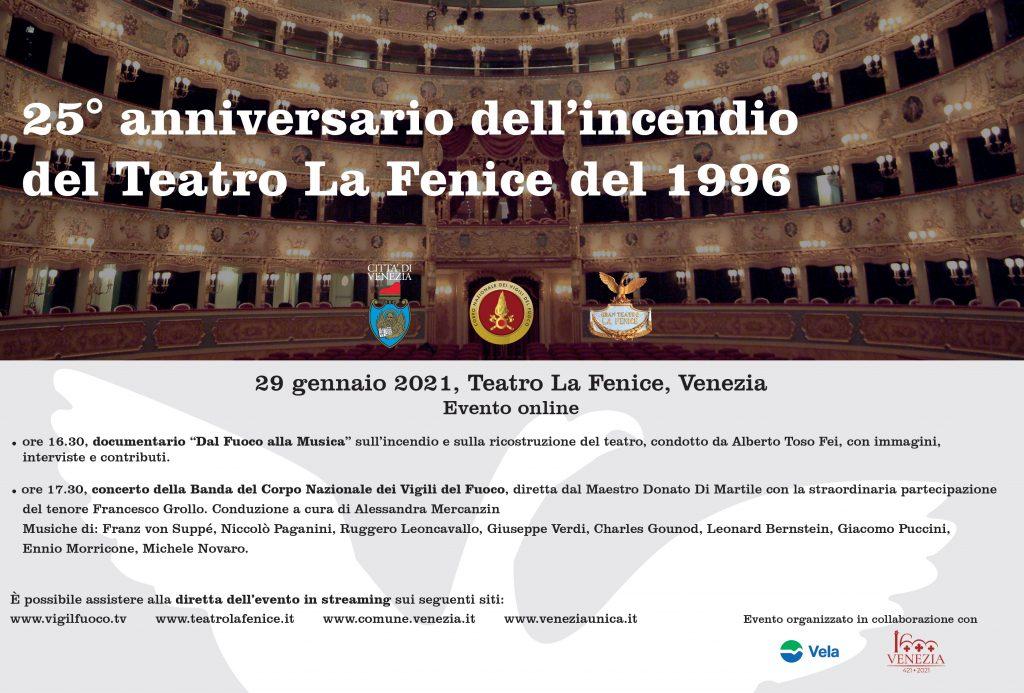 Concerto Vigili Del Fuoco Fenice