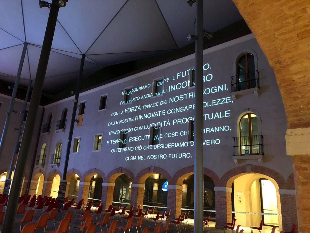 Chiostro M9 Durante Il Festival Delle Idee Ph. L.galati
