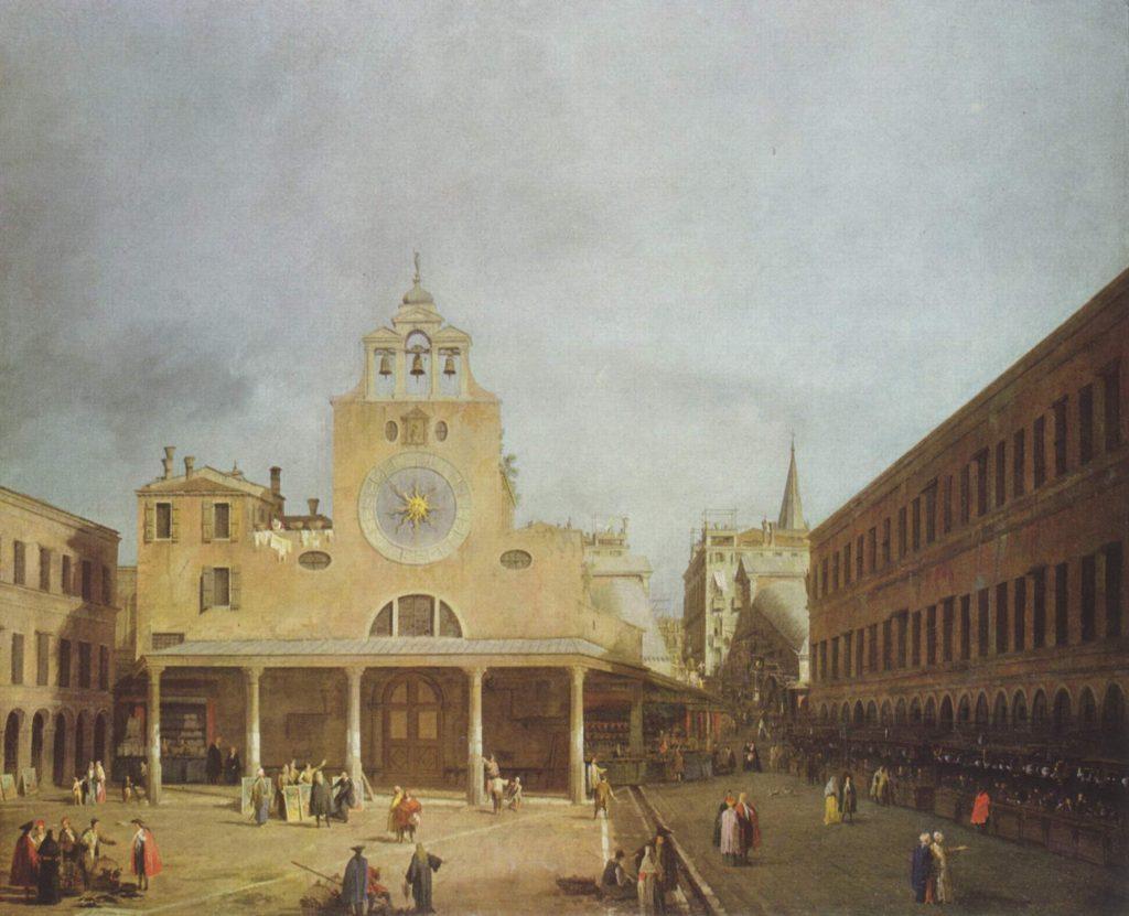Canaletto Facciata San Giacometo