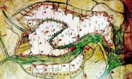Cartografia Venezia Sabbadino 1600 Anni