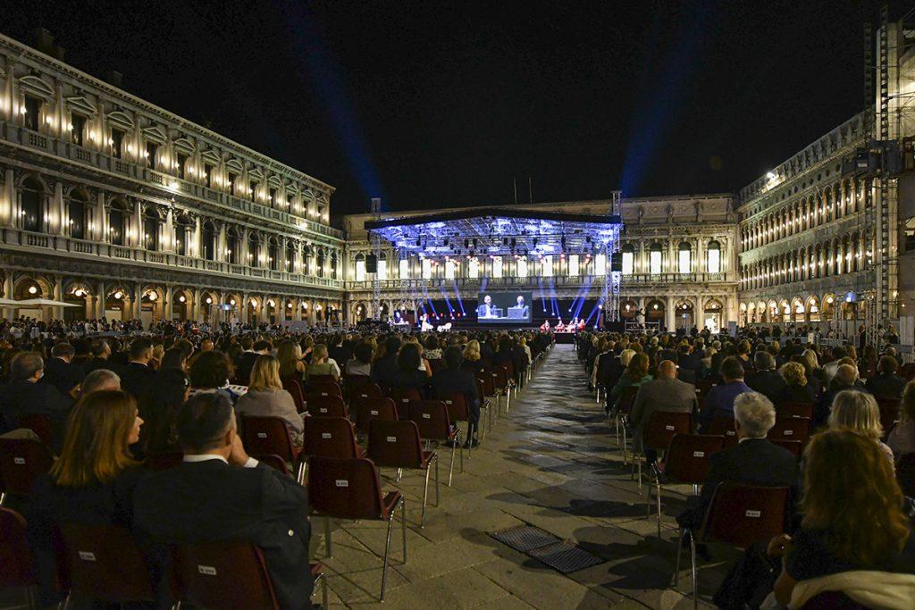 Serata Finale Premio Campiello 2020 In Piazza San Marco