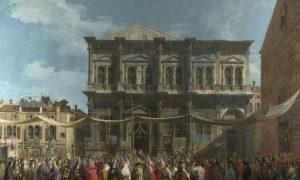 61143e9929898 61143e9929899giovanni Antonio Canal, Il Canaletto The Feast Day Of St Roch Wga03905.jpg
