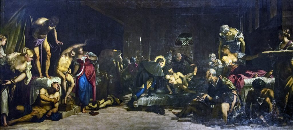 San Rocco Venezia (interno) San Rocco Risana Gli Appestati