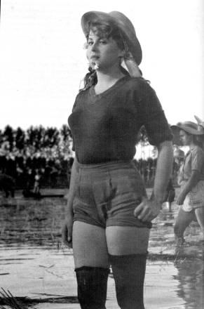 Silvana Mangano in 'Riso Amaro'