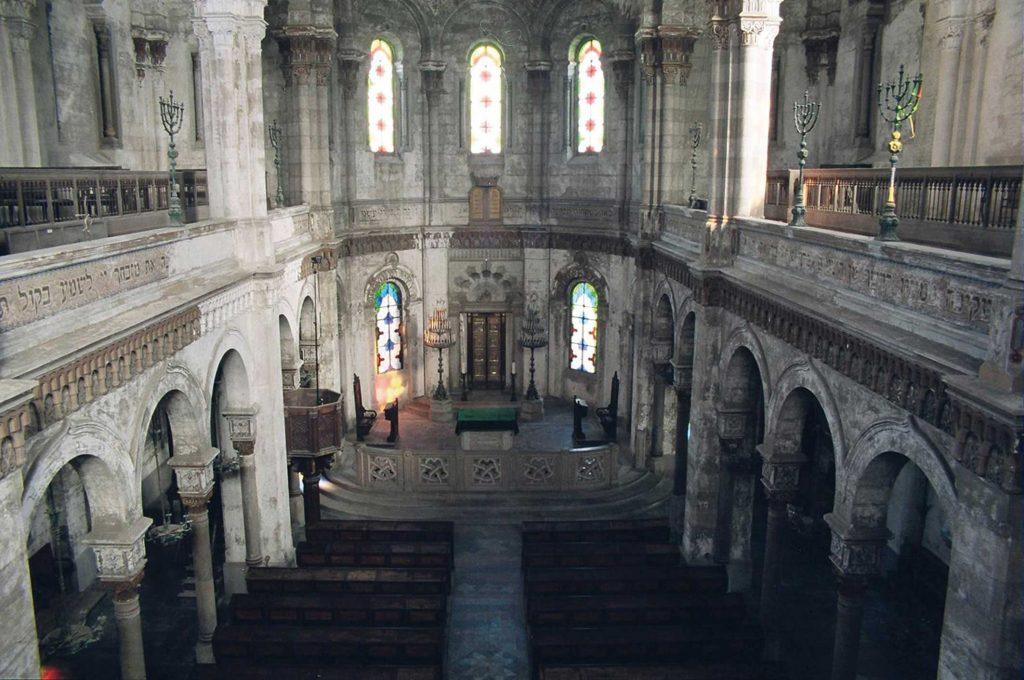 L'interno Della Sinagoga (fonte Lattes Valentini Architetti)