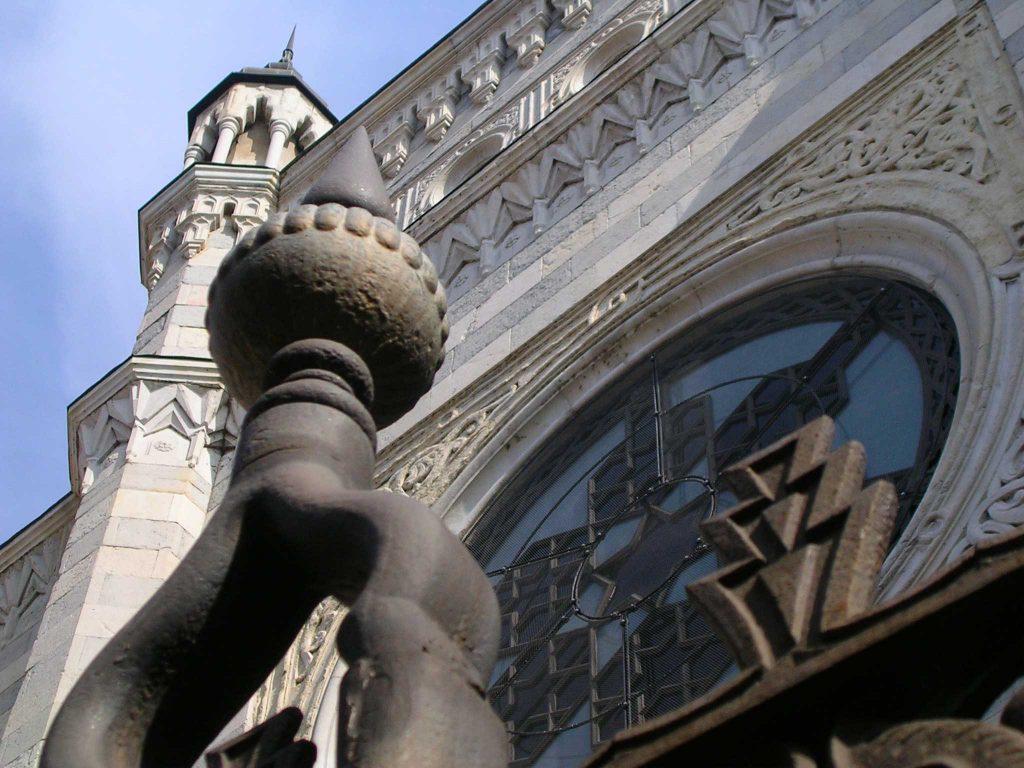 Particolare Della Sinagoga (fonte Lattes Valentini Architetti)
