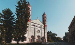 La basilica di Sant'Andrea, Vercelli.