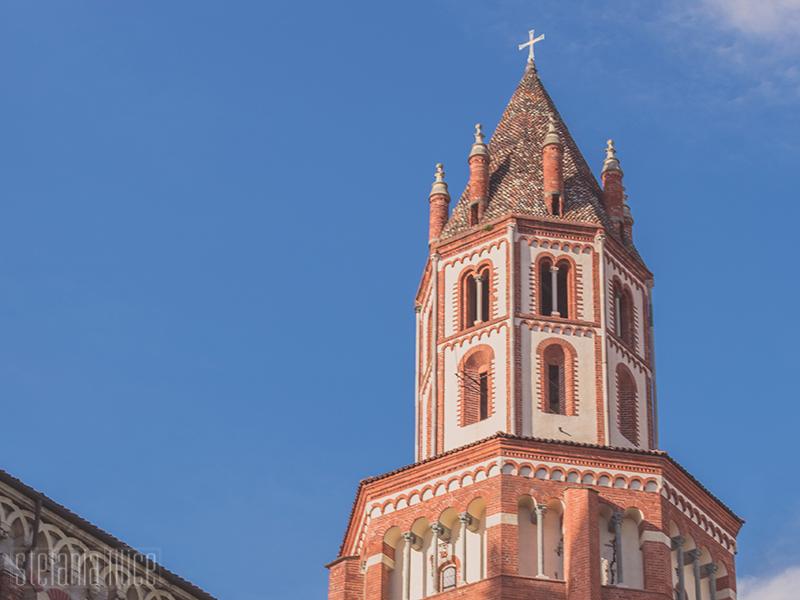 Dettaglio del tiburio della Basilica di Sant'Andrea