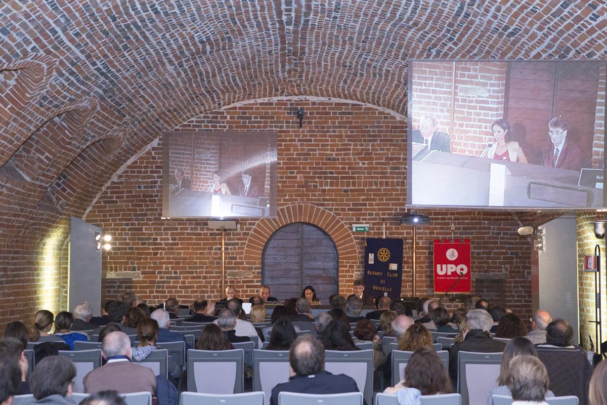 Una conferenza - Foto Upo