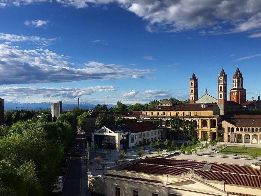 Panoramica Università del Piemonte Orientale - Vercelli