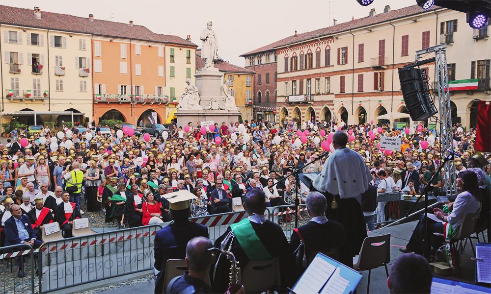 Golden Upo, settembre 2015. Piazza Cavour, Vercelli.