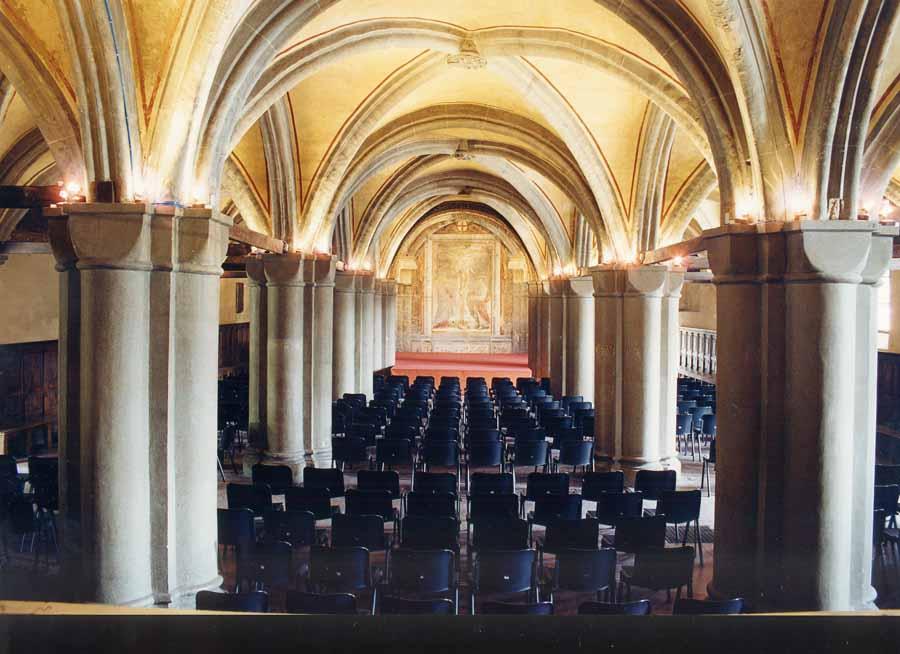 Il Salone Dugentesco - Foto Comune di Vercelli