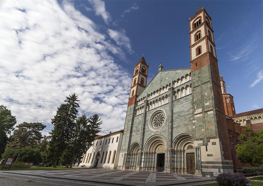 La basilica di Sant'Andrea, Vercelli. Credits foto: Diego Fracchetta