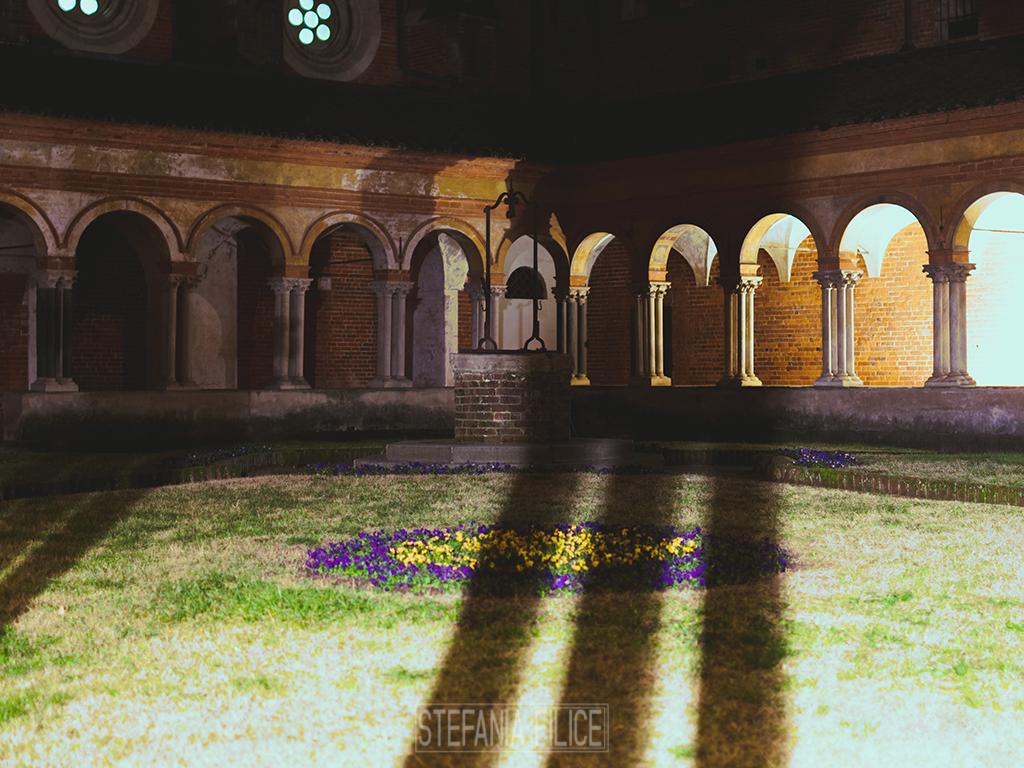 Abbazia di Sant'Andrea: il chiostro