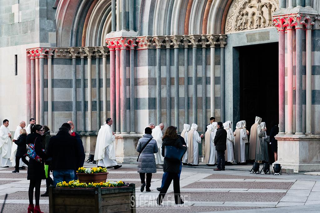 Basilica di Sant'Andrea, la messa in suo onore