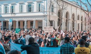 Ritrovo davanti al Comune per Fridays for Future