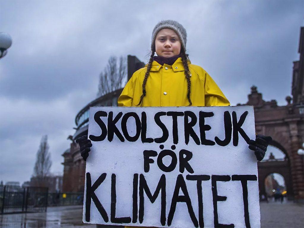 Greta Thunberg, attivista. Da qui parte anche il Fridays for Future Vercelli