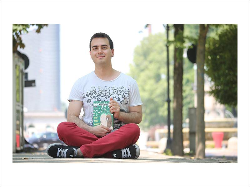Matteo Nunner un esempio di scrittori emergenti vercellesi