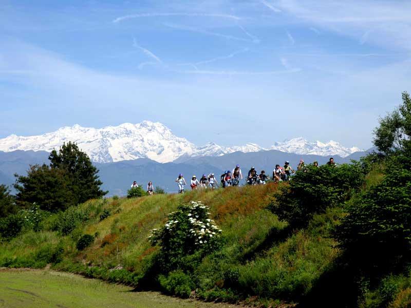 Parco Lame - ciclisti in escursione