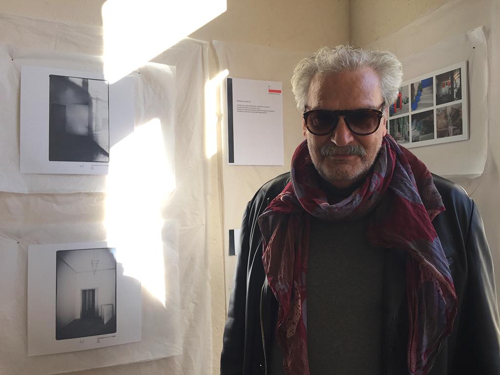 L'organizzatore di Letterature Urbane, Antonio Buonocore