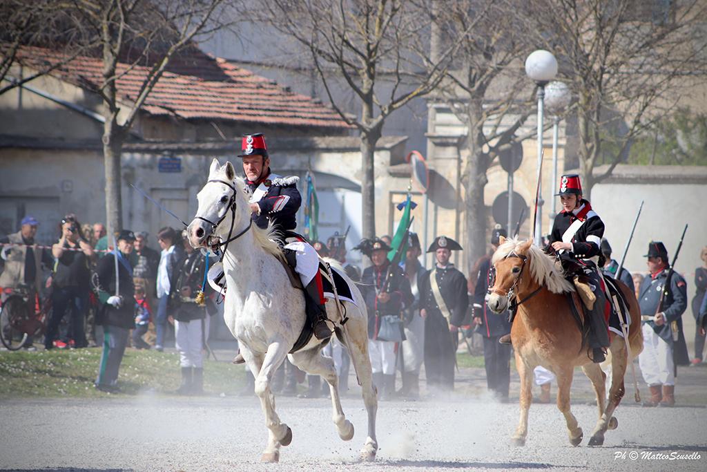 Cavalleria al Risorgimento Italiano a Trino Vercellese