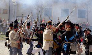 Un istantanea della battaglia, Risorgimento Italiano a Trino Vercellese