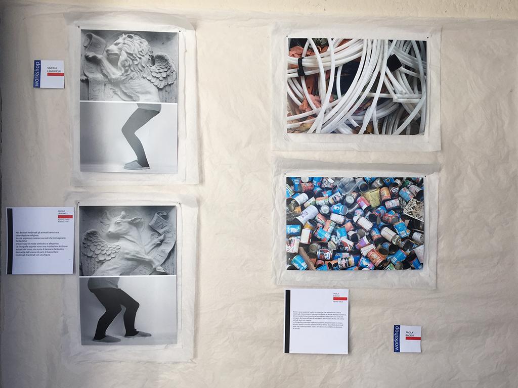 Opere esposte a Letterature Urbane