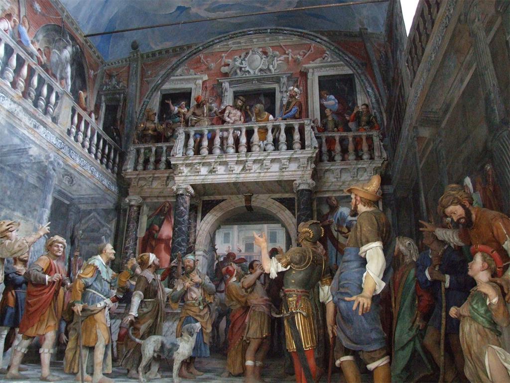 Pasqua nel vercellese: interni Sacro Monte di Varallo