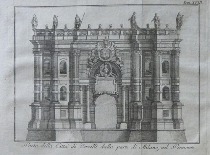 disegno di Porta Milano
