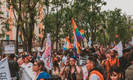 Il corteo del Vercelli Pride
