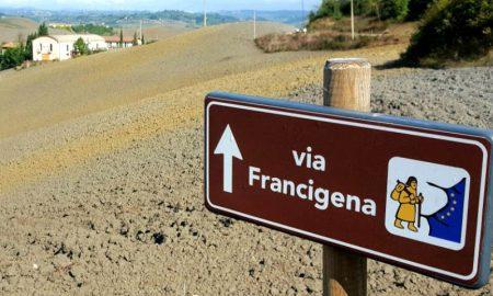 Via Francigena Copertina