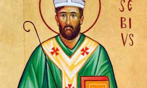 ritratto del patrono di vercelli Sant'Eusebio
