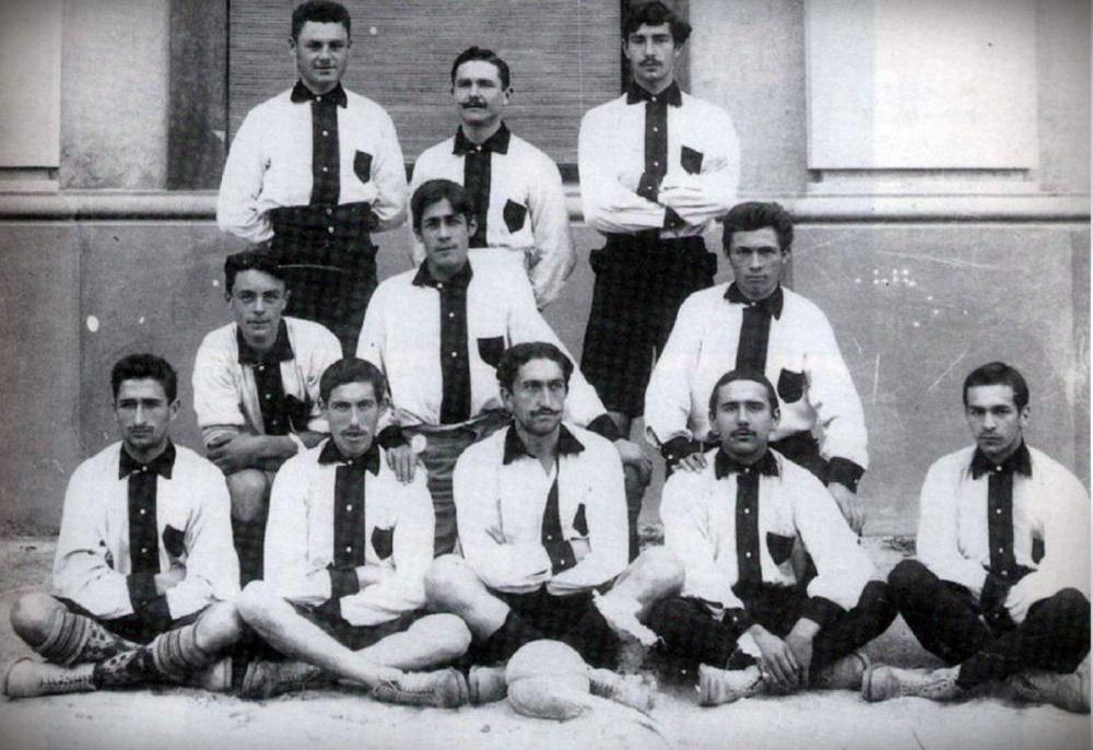 Carlo Rampini e la Vecchia Squadra della pro vercelli