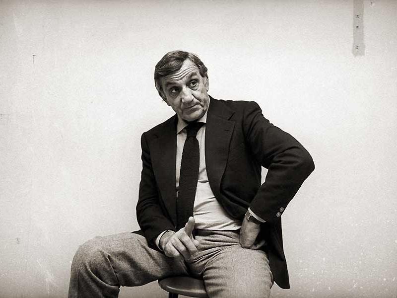 Roberto Coaloa - foto di Lino Ventura in bianco e nero