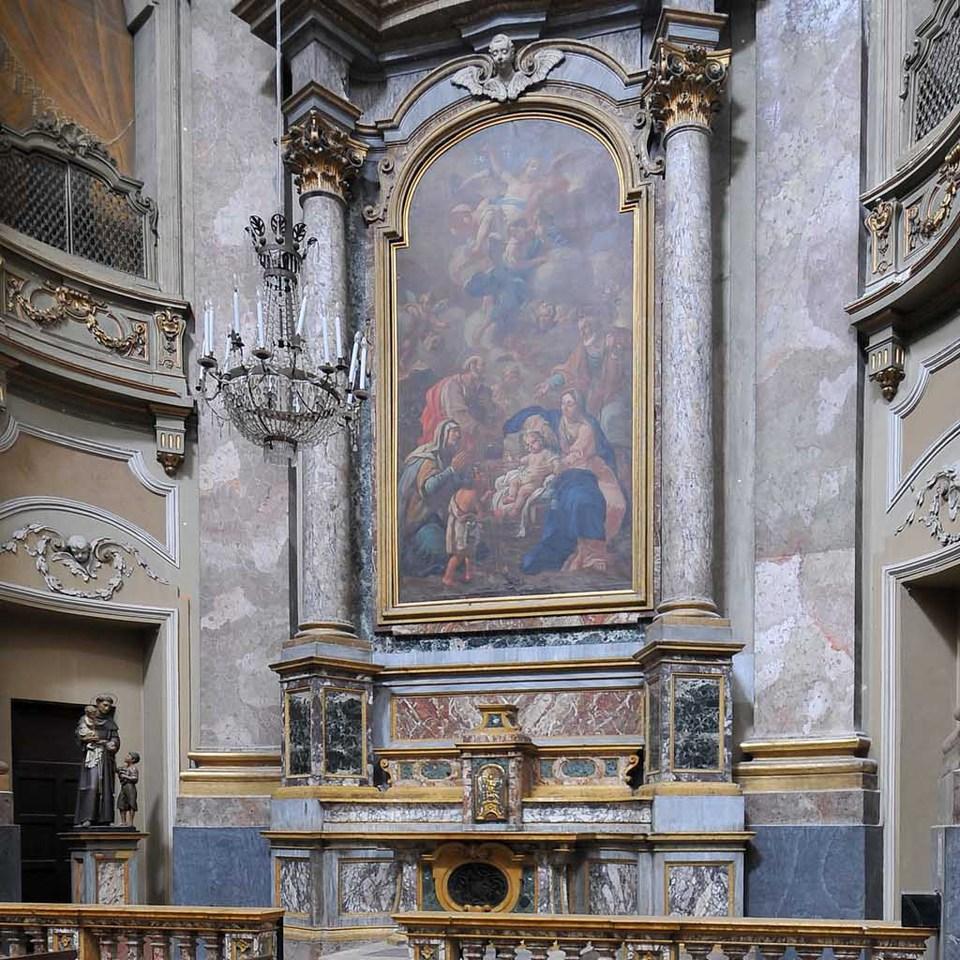 Chiesa Santa Maria Maggiore Affesco