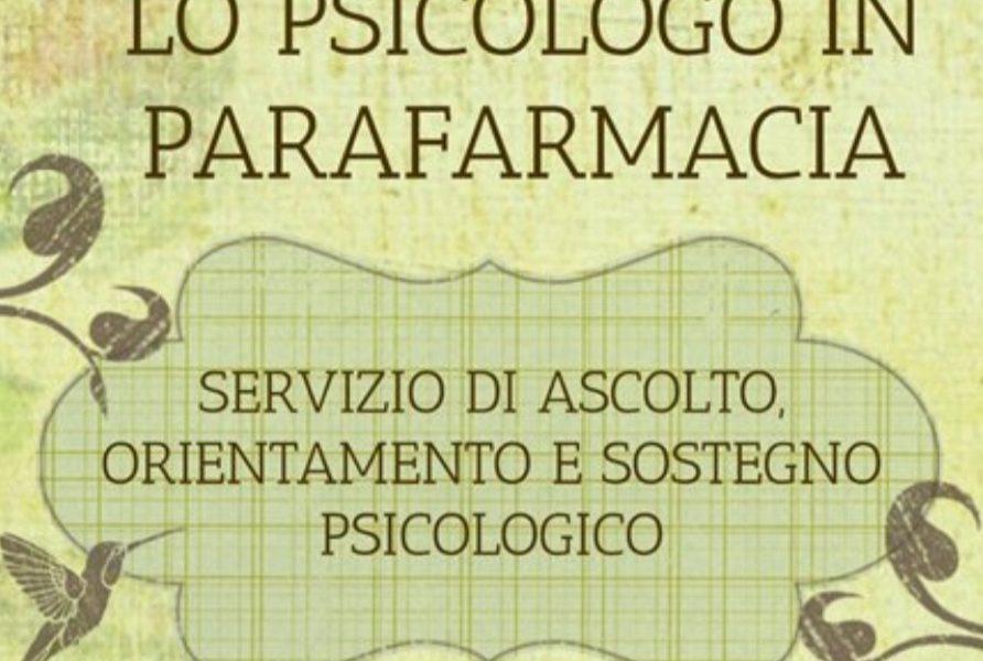 Psicologo In Parafarmacia a Vercelli