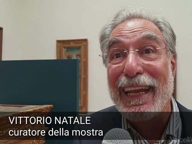 Vittorio Natale critico d'arte e storico curatore della mostra su Oldoni