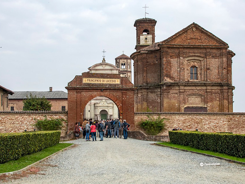 visita al principato di Lucedio vicino vercelli