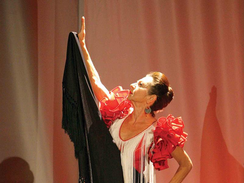 Pilar Sampietro, nota artista di Vercelli
