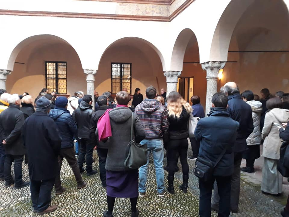 cittadini vercellesi in visita al museo leone