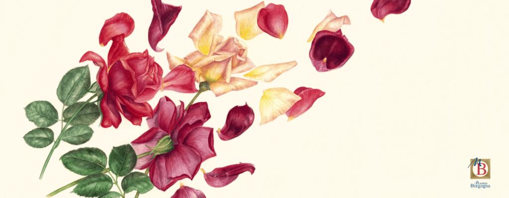 Natura Svelata e locandina della mostra floreale