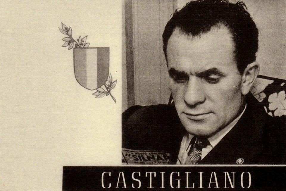 Eusebio Castigliano Ritratto del calciatore