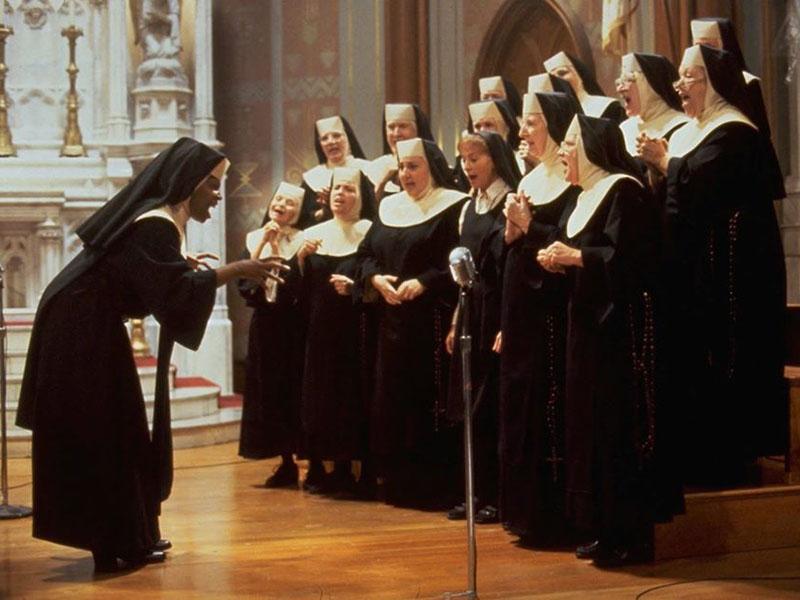 il coro gospel di Sister Act