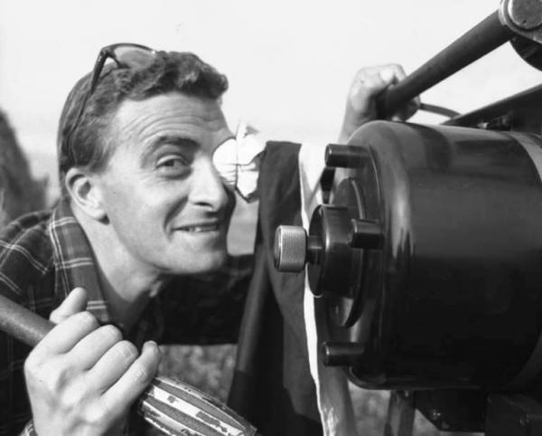 """Il regista di """"Riso Amaro"""", De Santis"""