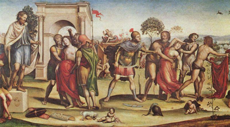 Giovanni antonio bazzi e un suo Quadro