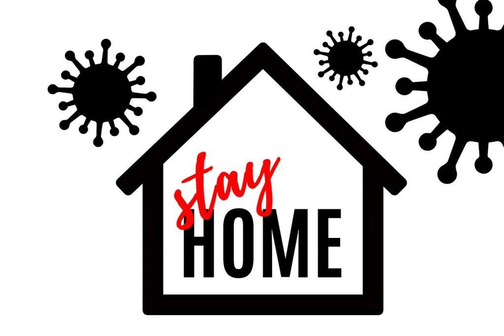Coronavirus, resta a casa.