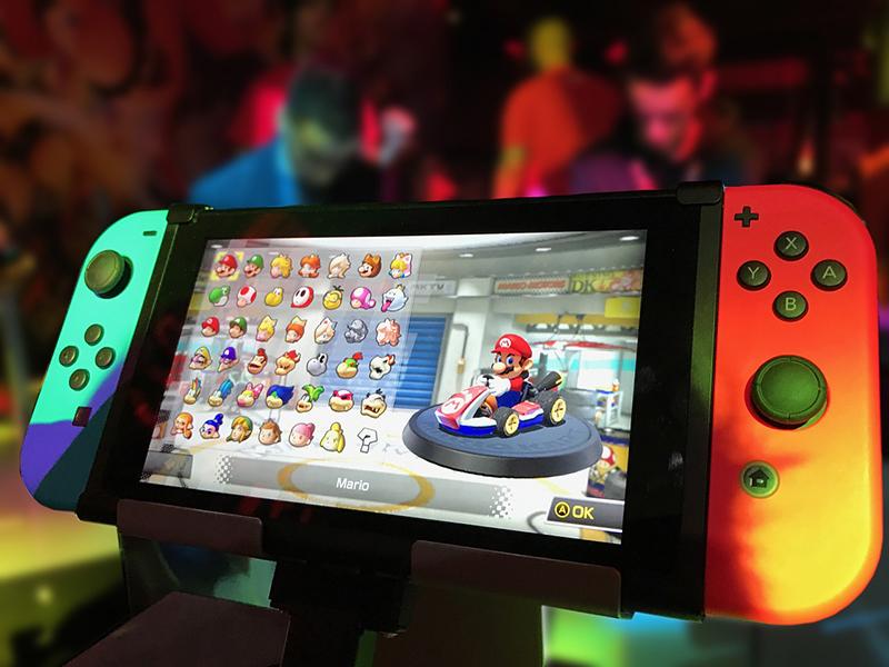 Nintendo Switch in famiglia