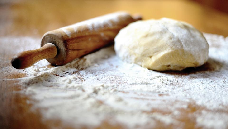 Mattarello per stendere la pasta