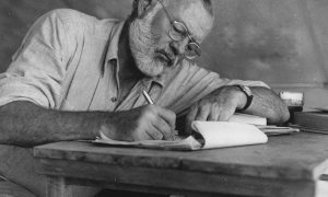 Ernest Hemingway Copertina