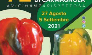 Locandina Fiera Del Peperone Carmagnola 2021
